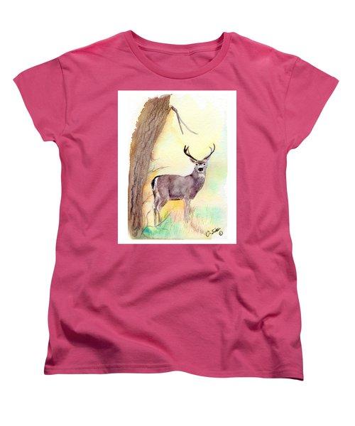 Be A Dear Women's T-Shirt (Standard Cut) by C Sitton