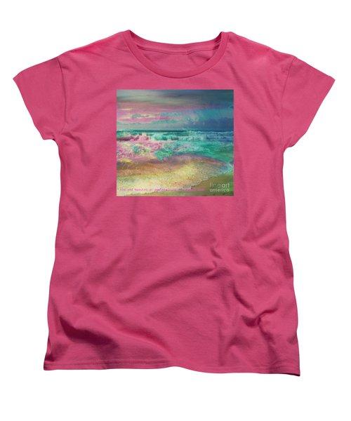 Beach  Overcast Women's T-Shirt (Standard Cut)