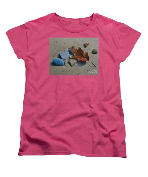 Beach Still Life II Women's T-Shirt (Standard Cut) by Pamela Clements