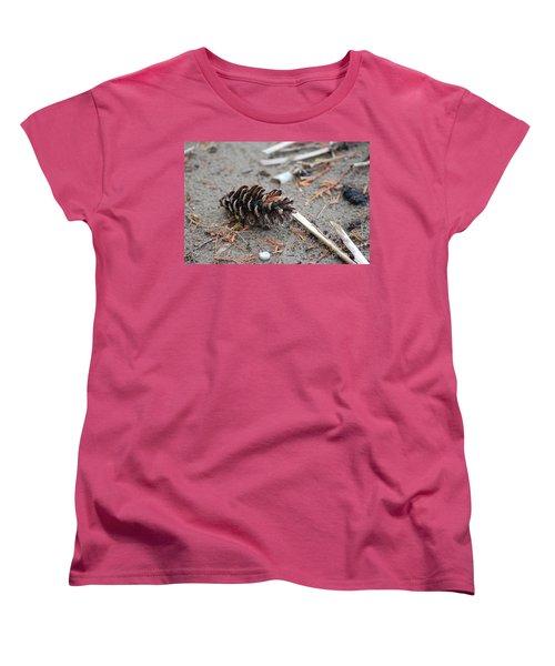 Women's T-Shirt (Standard Cut) featuring the photograph Beach Treasures by Bianca Nadeau