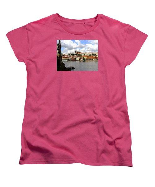Women's T-Shirt (Standard Cut) featuring the photograph Beautiful Prague by Ira Shander
