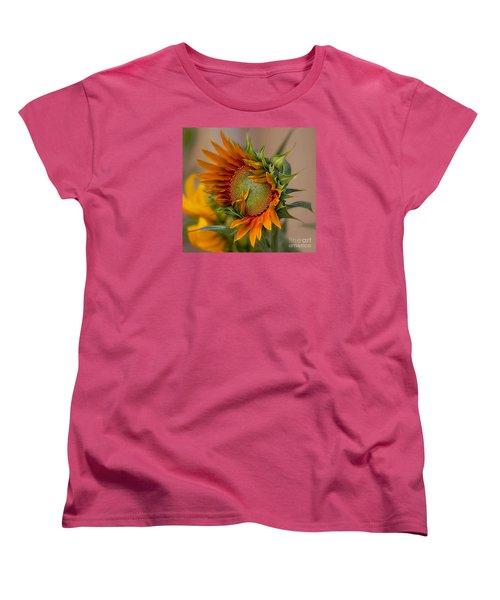 Beautiful Sunflower Women's T-Shirt (Standard Cut) by John  Kolenberg