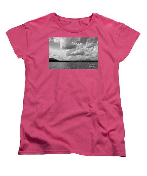 Before The Storm Women's T-Shirt (Standard Cut) by Barbara Bardzik