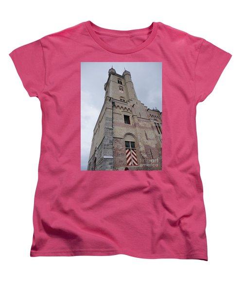 Belfry In Sluis Holland Women's T-Shirt (Standard Cut)