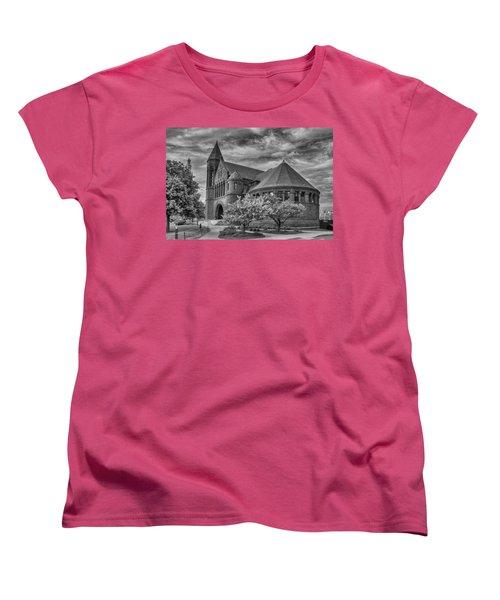 Billings Library At Uvm Burlington  Women's T-Shirt (Standard Cut) by Guy Whiteley