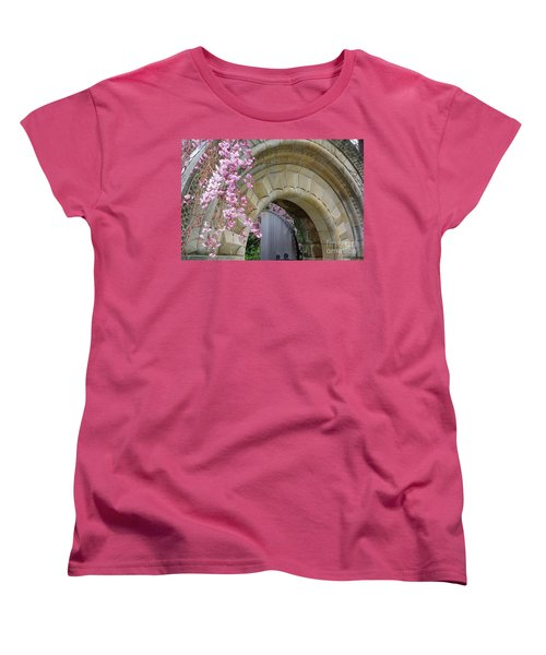 Women's T-Shirt (Standard Cut) featuring the photograph Bishop's Gate by John S
