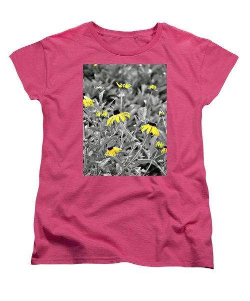 Black-eyed Susan Field Women's T-Shirt (Standard Cut)