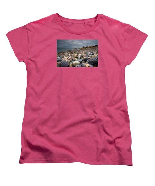 Black Rock Beach Women's T-Shirt (Standard Cut) by Brian MacLean