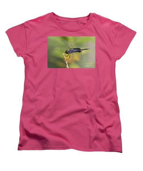 Women's T-Shirt (Standard Cut) featuring the photograph Black Saddlebags by Bryan Keil