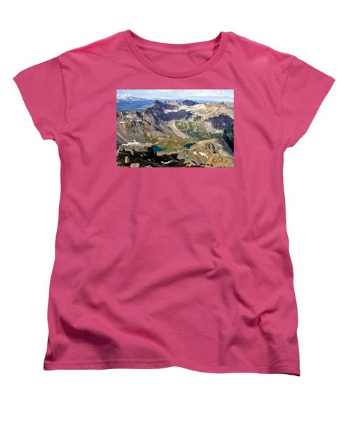 Blue Lakes Beauty Women's T-Shirt (Standard Cut) by Jeremy Rhoades