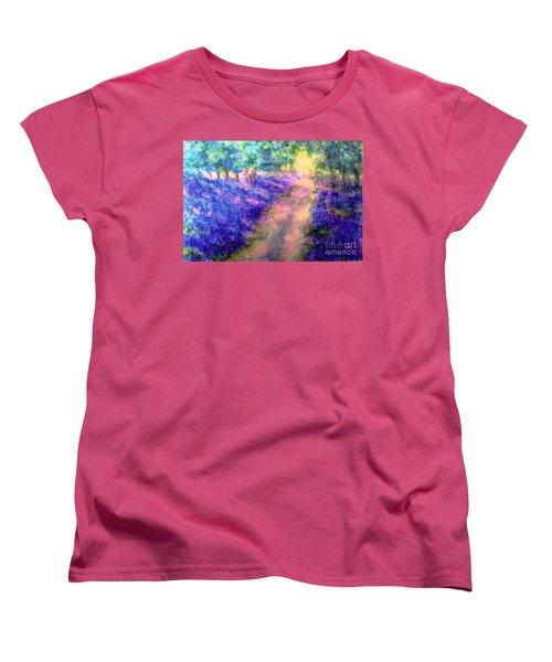Bluebell Woods Women's T-Shirt (Standard Cut) by Hazel Holland