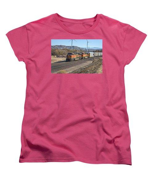 Bnsf 7454 Women's T-Shirt (Standard Cut) by Jim Thompson