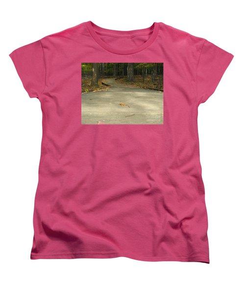 Boardwalk Women's T-Shirt (Standard Cut) by Michael Krek