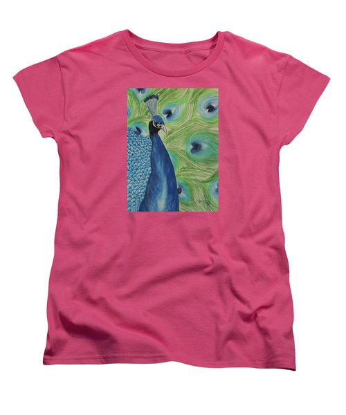 Boldly Beautiful Women's T-Shirt (Standard Cut) by Patricia Olson
