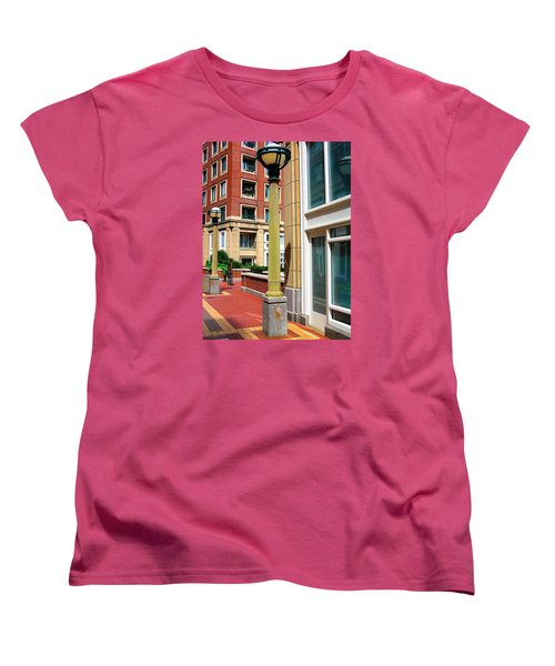 Boston Interior Women's T-Shirt (Standard Cut) by Oleg Zavarzin