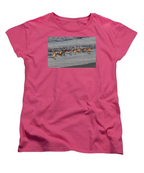 Bottoms Up Women's T-Shirt (Standard Cut) by Kay Lovingood