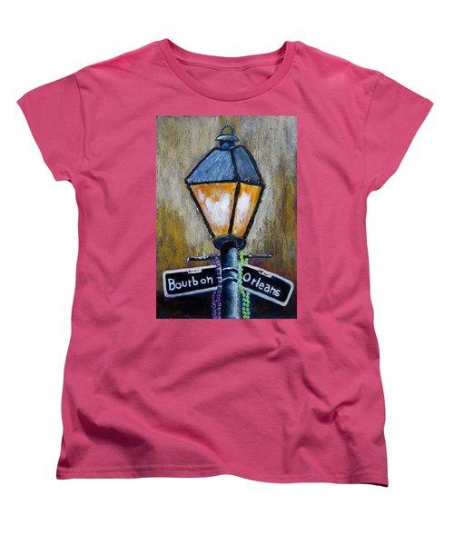 Bourbon Light Women's T-Shirt (Standard Cut) by Suzanne Theis