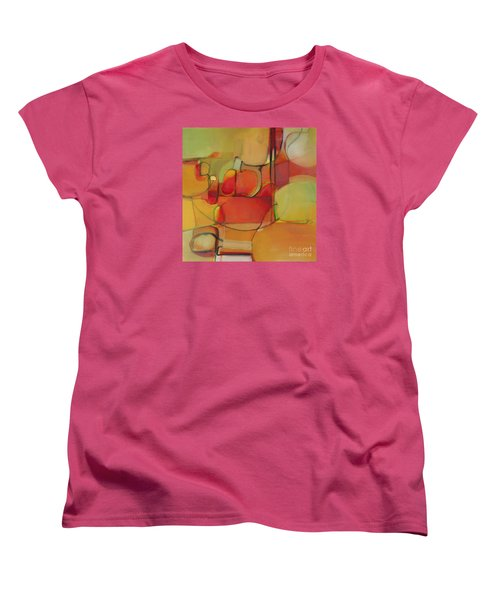 Women's T-Shirt (Standard Cut) featuring the painting Bowl Of Fruit by Michelle Abrams