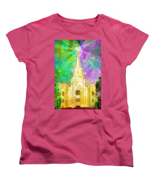 The Heavens Were Opened Women's T-Shirt (Standard Cut) by Greg Collins