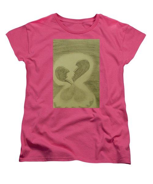 Broken Women's T-Shirt (Standard Cut) by Thomasina Durkay