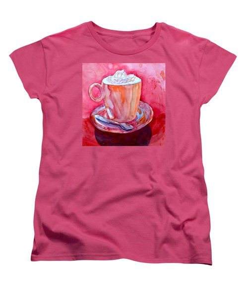 Buon Appetito Women's T-Shirt (Standard Cut) by Beverley Harper Tinsley
