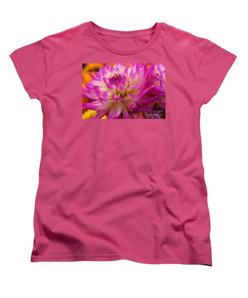 Women's T-Shirt (Standard Cut) featuring the photograph Bursting With Color by John S