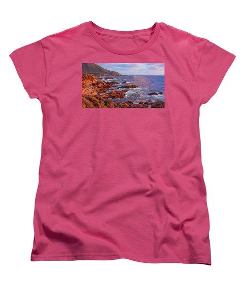 California Coast Women's T-Shirt (Standard Cut) by Michael Pickett