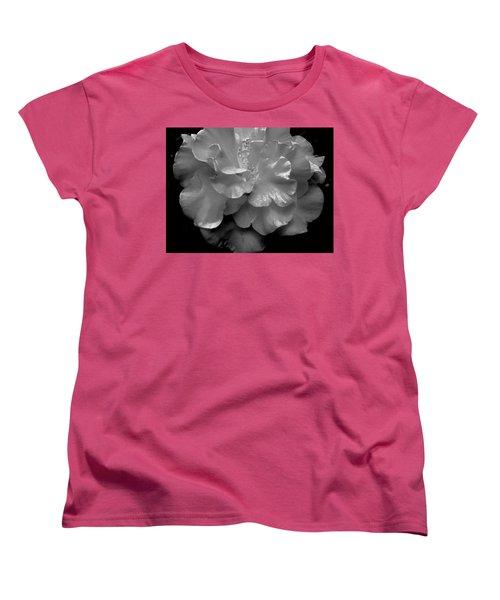 Camelia Women's T-Shirt (Standard Cut) by Charlotte Schafer
