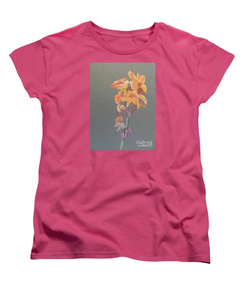 Canna Women's T-Shirt (Standard Cut) by Pamela  Meredith