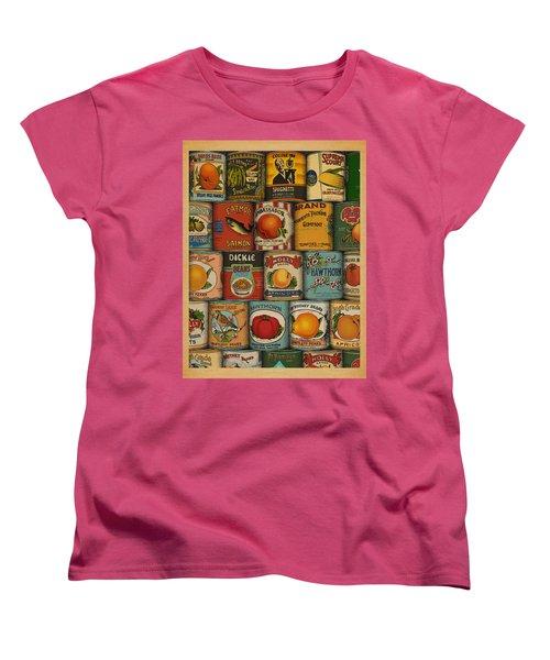 Canned Women's T-Shirt (Standard Cut) by Meg Shearer