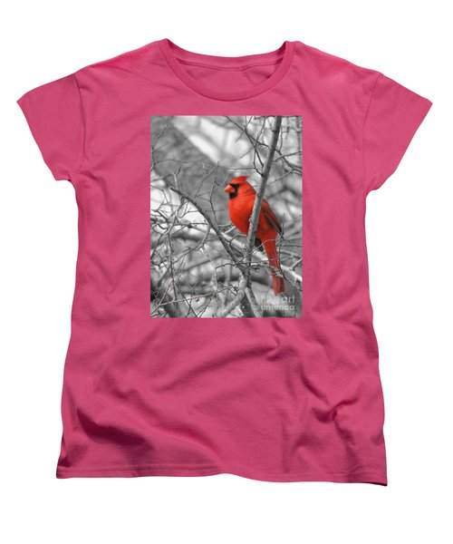 Cardinal Of Hope 002sc Women's T-Shirt (Standard Cut) by Robert ONeil
