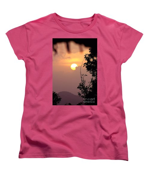 Women's T-Shirt (Standard Cut) featuring the photograph Caribbean Summer Solstice  by The Art of Alice Terrill