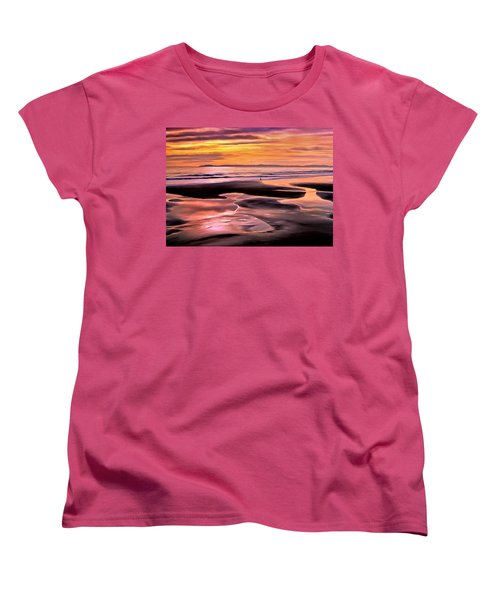 Catalina Sunset Women's T-Shirt (Standard Cut) by Michael Pickett