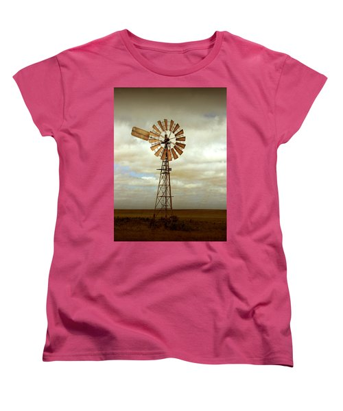 Catch The Wind Women's T-Shirt (Standard Cut) by Holly Kempe