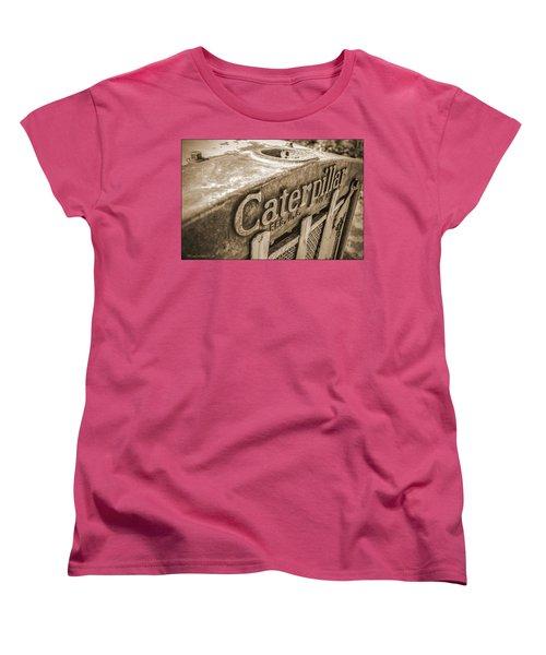 Caterpillar Vintage Women's T-Shirt (Standard Cut) by LeeAnn McLaneGoetz McLaneGoetzStudioLLCcom
