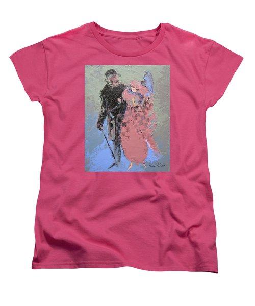 Catwalk Women's T-Shirt (Standard Cut) by Marina Gnetetsky