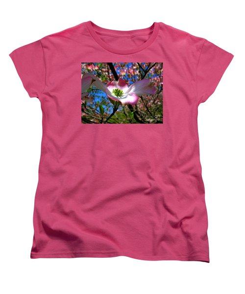 Center Stage Women's T-Shirt (Standard Cut) by Patti Whitten