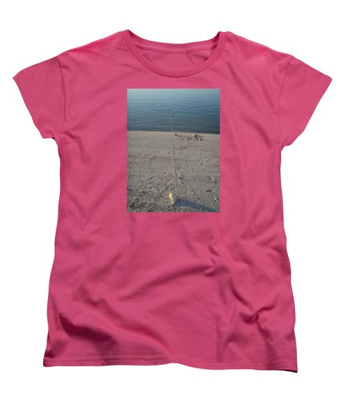Women's T-Shirt (Standard Cut) featuring the photograph Champagne Chillin by Robert Nickologianis