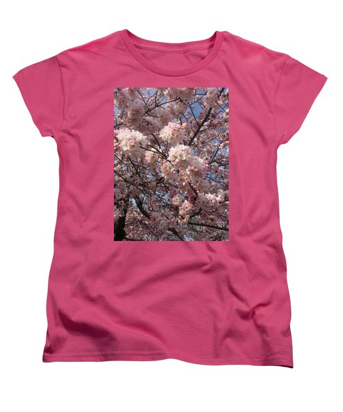 Cherry Blossoms For Lana Women's T-Shirt (Standard Cut) by Emmy Marie Vickers