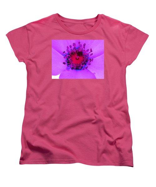 Cherry Pie Rose - Photopower 2827 Women's T-Shirt (Standard Cut)