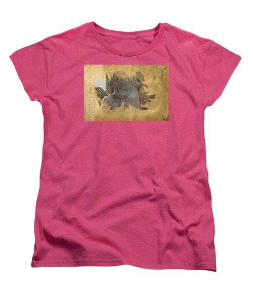 Cherub Women's T-Shirt (Standard Cut) by Evie Carrier