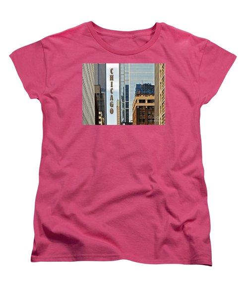 Chicago  Women's T-Shirt (Standard Cut)