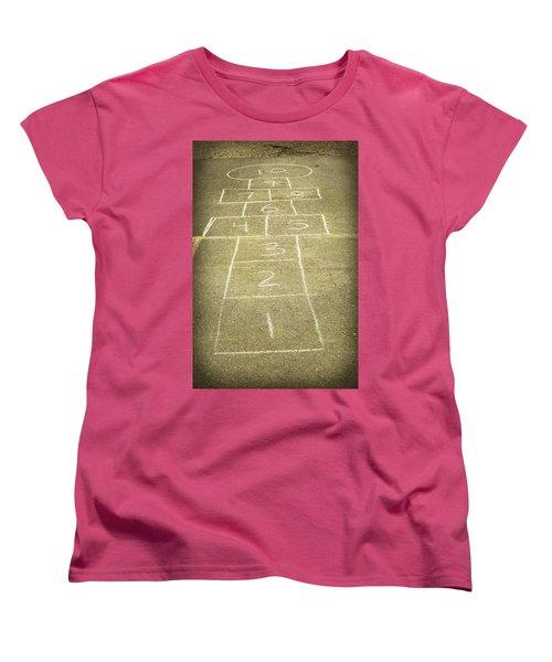 Childhood Games Women's T-Shirt (Standard Cut) by Fran Riley