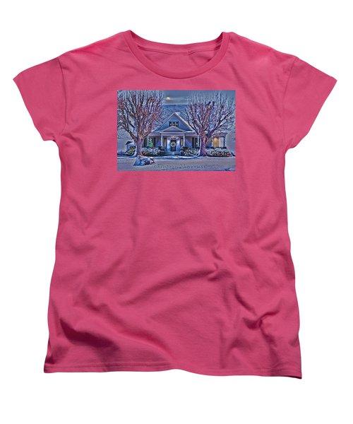 Christmas Memories Women's T-Shirt (Standard Cut) by Bonnie Willis
