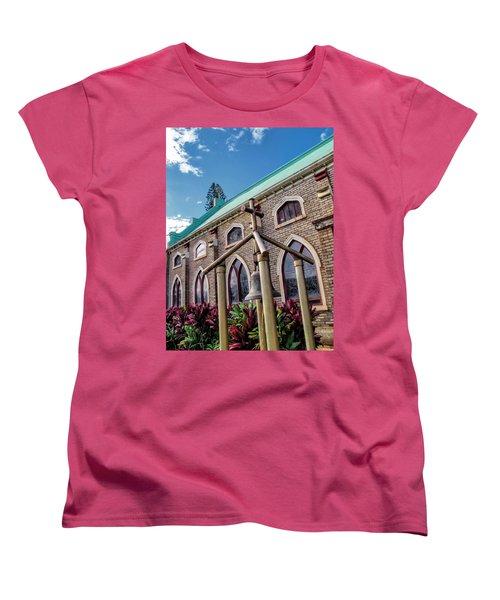 Women's T-Shirt (Standard Cut) featuring the photograph Church 5 by Dawn Eshelman