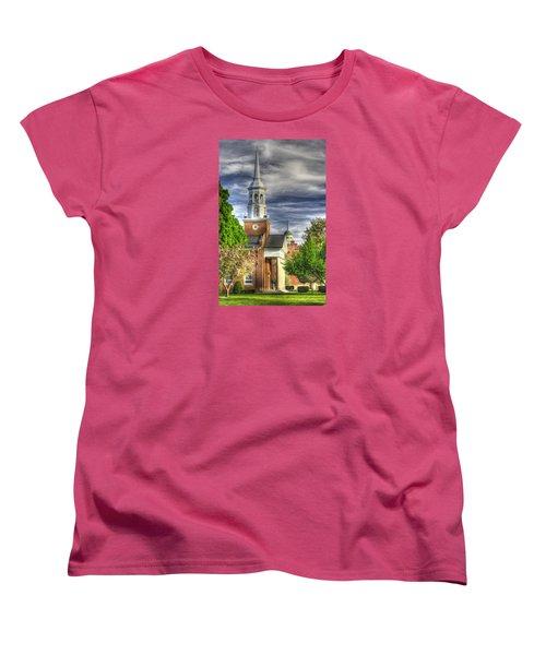 Church Of The Abiding Presence 1a - Lutheran Theological Seminary At Gettysburg Spring Women's T-Shirt (Standard Cut) by Michael Mazaika