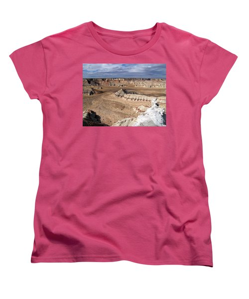 Coal Mine Mesa 11 Women's T-Shirt (Standard Cut) by Jeff Brunton