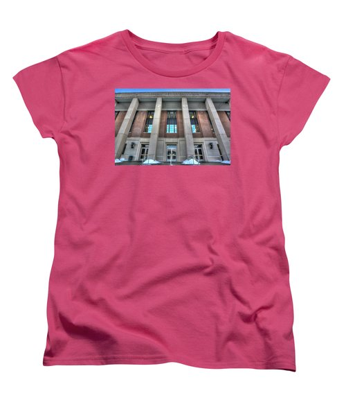 Coffman Memorial Union Women's T-Shirt (Standard Cut) by Amanda Stadther