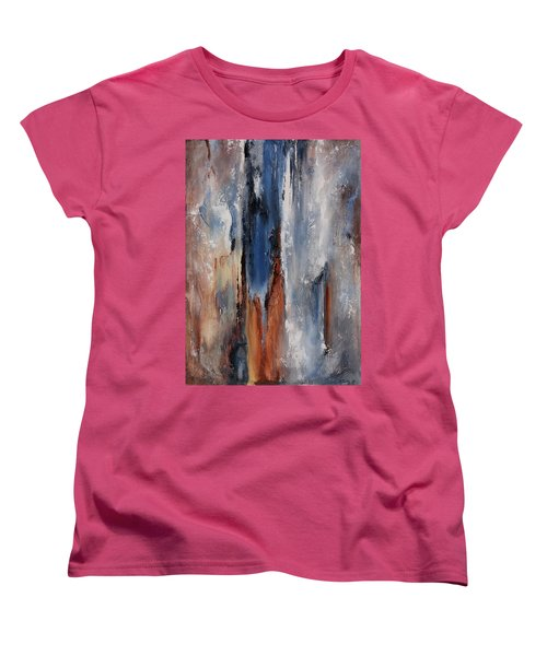 Color Harmony 06 Women's T-Shirt (Standard Cut) by Emerico Imre Toth