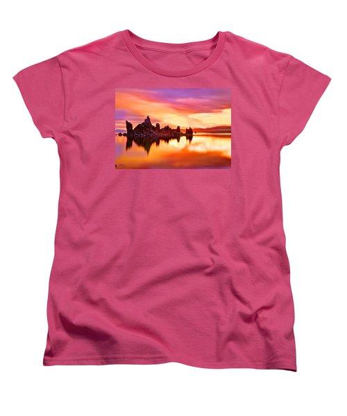 Colors Women's T-Shirt (Standard Cut) by Midori Chan